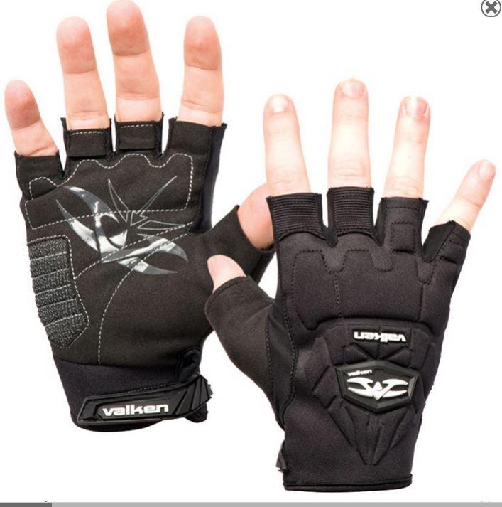Valken Halbfinger Handschuhe