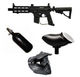 Tippmann Sierra one Tactical Edition schwarz Sparpaket
