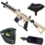 Tippmann Sierra one Tactical Edition tan Sparpaket